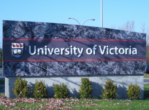 university of victoria bc sign 2